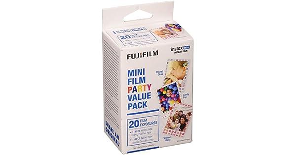 Amazon.com: Fujifilm Instax Mini Film Party Value Pack ...