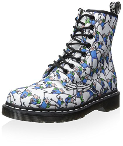 Dr. Martens Blanc Adventure Time Finn 1460 Castel Bottes