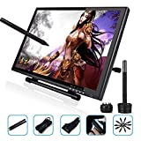 Ugee 1910B Interactive Pen Display Drawing Monitor Graphics Tablet 19 Inch LCD Screen with 2 Pens,1 Protector Film and 1 Glove