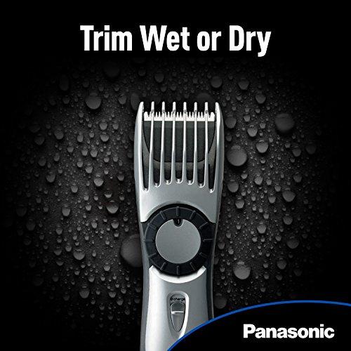 037988562220 - Panasonic ER224S Men's Cordless Wet/Dry Hair, Beard and Body Electric Trimmer carousel main 5