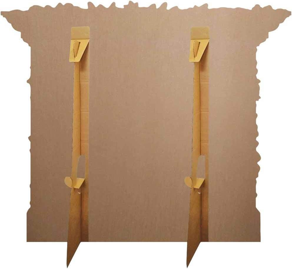 101cm x 121cm Includes Mini Cutout and 8 x10 Photo BundleZ-4-FanZ Christmas Fireplace Large Cardboard Cutout//Standup Fan Pack