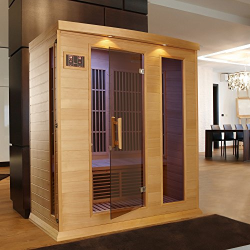 Dynamic Saunas Amz Mx K306 01 Maxxus Marseille 3 Person Far Infrared Sauna