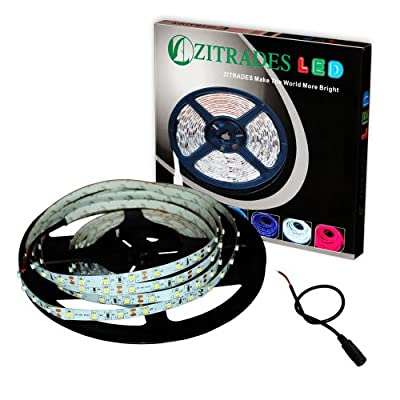 ZITRADES 5M 16FT 300 LED 3528 TYPE Flexible Strip Lights Light Lamp 300LED Car Home Garden Warm White Non-waterproof BY ZITRADES
