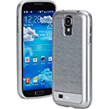 Case-Mate Carbon Fiber Argento Case for Samsung Galaxy S4 - Retail Packaging - Silver