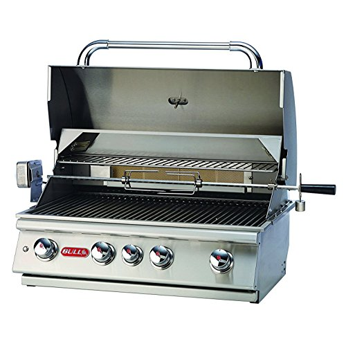 (Bull Outdoor Products BBQ 47629 Angus 75,000 BTU Grill Head, Natural Gas)