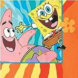 : SpongeBob Buddies Luncheon Napkins - 16 Count
