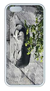 iPhone 5S Customized Unique Landscape Flowers Lowendenkmal New Fashion TPU White iPhone 5/5S Cases