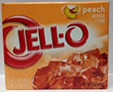 Jello Peach 3oz 6 Pack