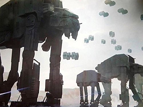New Planet Crait Images from The Last Jedi!