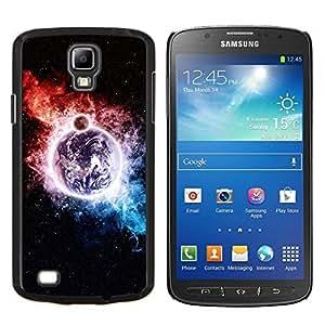 Qstar Arte & diseño plástico duro Fundas Cover Cubre Hard Case Cover para Samsung Galaxy S4 Active i9295 (Espacio Galaxy)
