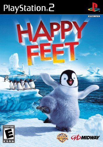 Happy Feet Ps2 - Happy Feet - PlayStation 2 by Midway