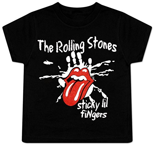 Toddler Stone - Toddler: The Rolling Stones - Sticky Little Fingers Baby T-Shirt Size 3T