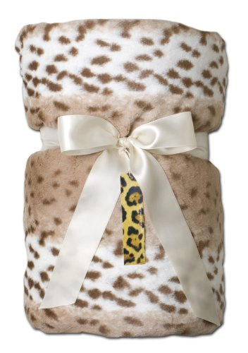 Max Daniel Designs Throw Blanket - Snow Leopard by Max Daniel Designs