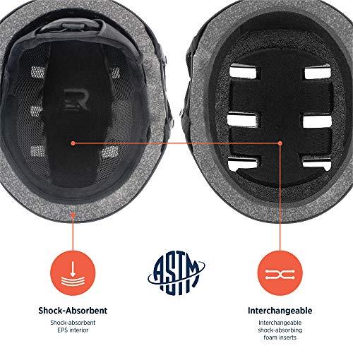 Retrospec Traverse H2 2-in-1 Convertible Ski /& Snowboard//Bike /& Skate Helmet ...