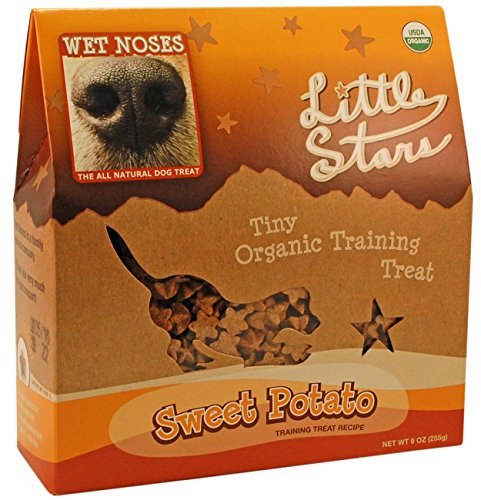 Wet Noses Little Stars Sweet Potato Organic Dog Training Treats, 9-Ounce