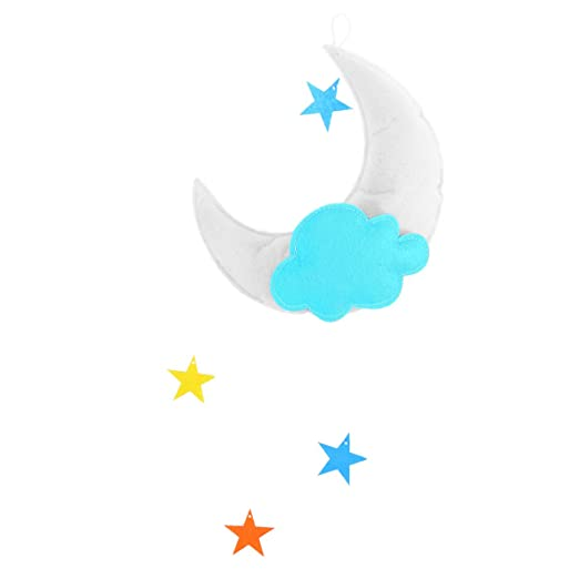 Decoracion De Nubes Para Baby Shower.Tinksky Nubes Techo Colgante Decoraciones Luna Estrellas Adornos Para Baby Shower Baby Nursery Room Luna Blanca Green Cloud Multicolor Stars