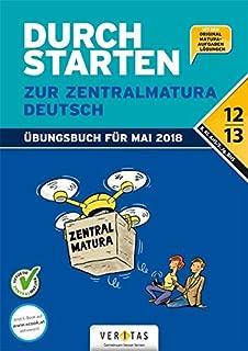 Zentral Matura Deutsch Ahsbhs Amazonde Bücher