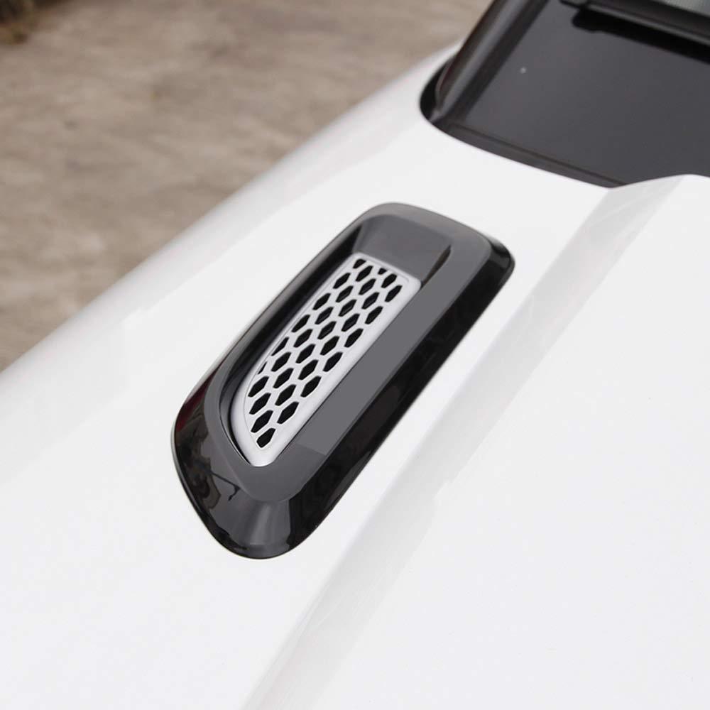ABS Plastic Slat Air Vent Outlet Cover Trim for Landrover RR Evoque Discovery Sport LR4 Freelander 2 silver black