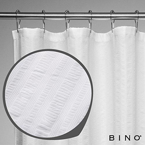 BINO 'Hanna' Fabric Shower Curtain - 70