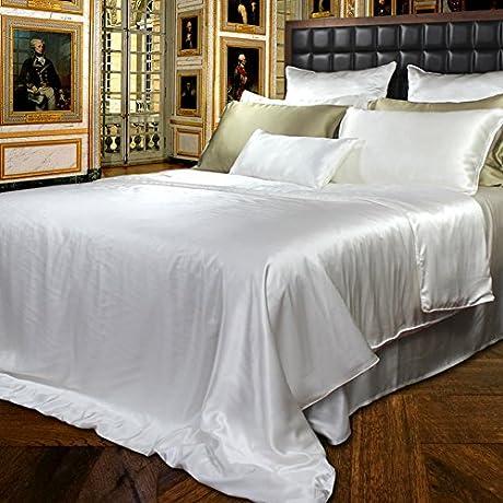 Pure Silk Bed Linen Thick Seamless Silk Bed Mikasa A 150x200cm 59x79inch