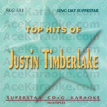 Karaoke Music CDG: Superstar CDG SKG551 - Justin Timberlake