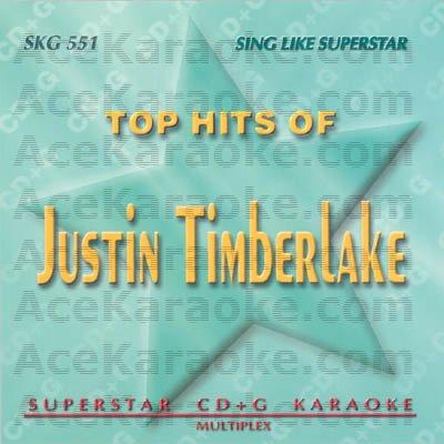 Karaoke Music CDG: Superstar CDG SKG551 - Justin Timberlake Karaoke CDG (New)