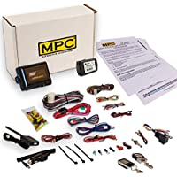 MPC Complete 2-Way LCD Remote Start/Entry Kit For 2012-2014 Toyota Camry with Key to Start with 5 Button LCD 2 Way Remote