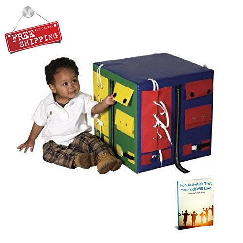 Kids Activity Cube Educational Baby Toddler Playing & Learning Cube & eBook by AllTim3Shopping