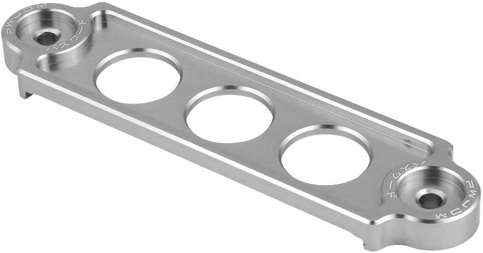 Silver Senyar Aluminum Alloy Car Racing Battery Tie Down Hold Bracket Holder Lock Anodized for HONDA CIVIC//CRX 1988-2000