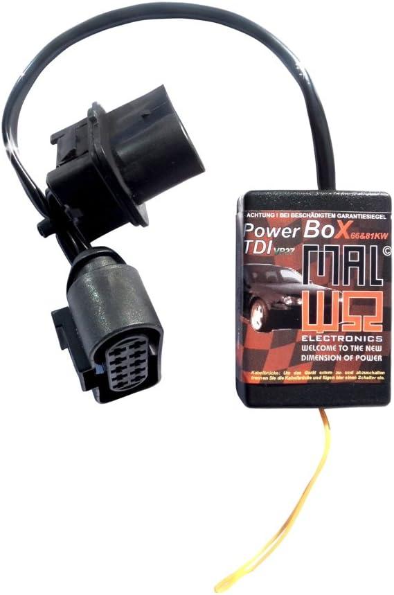 vp37/Power Box Diesel Chip M/ódulo de sintonizaci/ón para Seat Ibiza 1.9/TDI 81/kW//110/PS//235/Nm