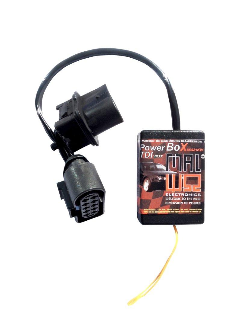 vp37 Power Box Diesel Chip Mó dulo de sintonizació n para Seat Ibiza 1.9 TDI 66 KW/90 PS/210 Nm MAL Electronics GmbH