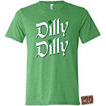 Vintage Fly Mens ST Patrick's Day Dilly Dilly Premium Tri Blend Short Sleeve Shirt