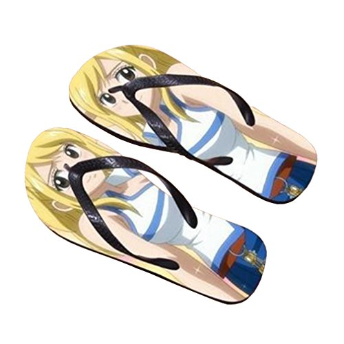 Bromeo Fairy Tail Anime Unisex Flip Flops Chanclas 12