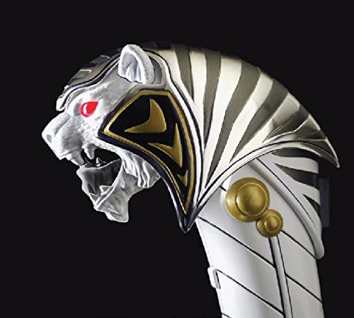 "Power Rangers 1993 8/"" White Action Figure Saba Sword legacy shield armor"