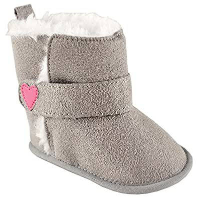 Amazon.com: Luvable Friends Baby Girl's Winter Boots