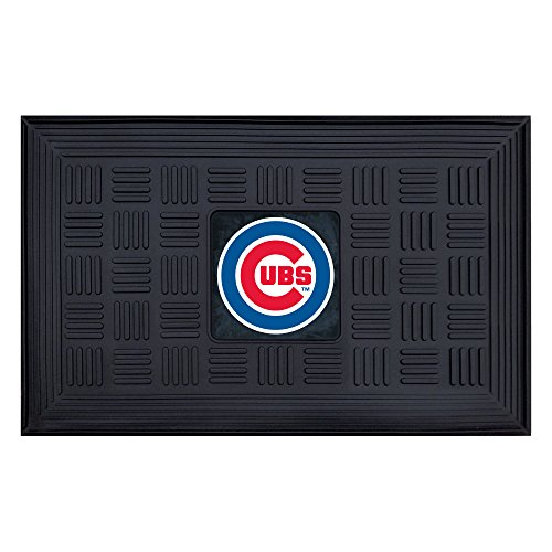 FANMATS MLB Chicago Cubs Vinyl Door Mat