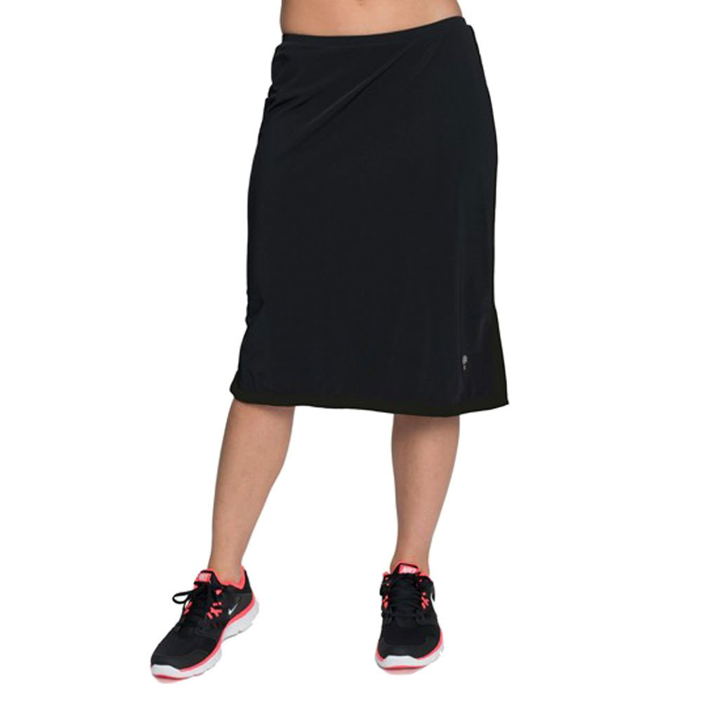 a8f4f2b9b3f HydroChic Women s Modest Long Swim Skirt - Chlorine Proof Swimwear with  Leggings