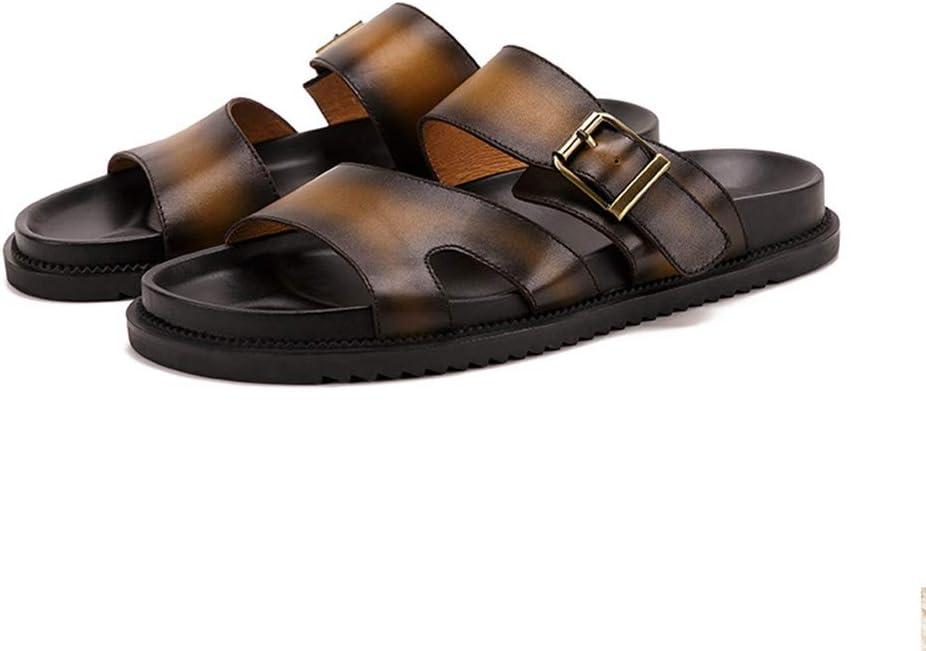 DYFAR Sandalias ortopédicas para Hombre Chancletas Arco de Soporte Elegantes Sandalias de Playa Confort Zapatillas para Playa Piscina Plantar