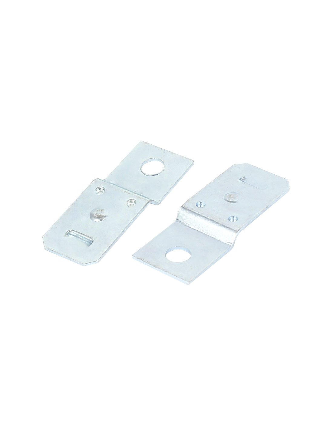 5 Pcs 5mm Hole Diameter Silver Tone Relay Bracket