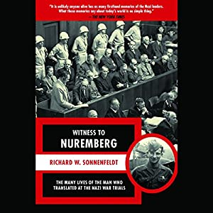 Witness to Nuremberg Hörbuch