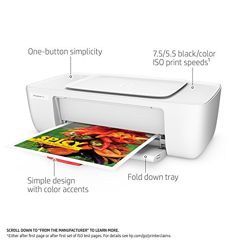 HP F5S23A#B1H DeskJet 1112 Printer White