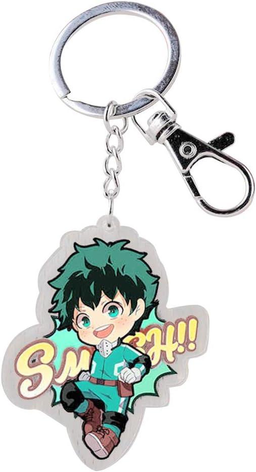 My Hero Academia Keychain Bakugo Katsuki Acrylic Key Ring Anime Collection Gift