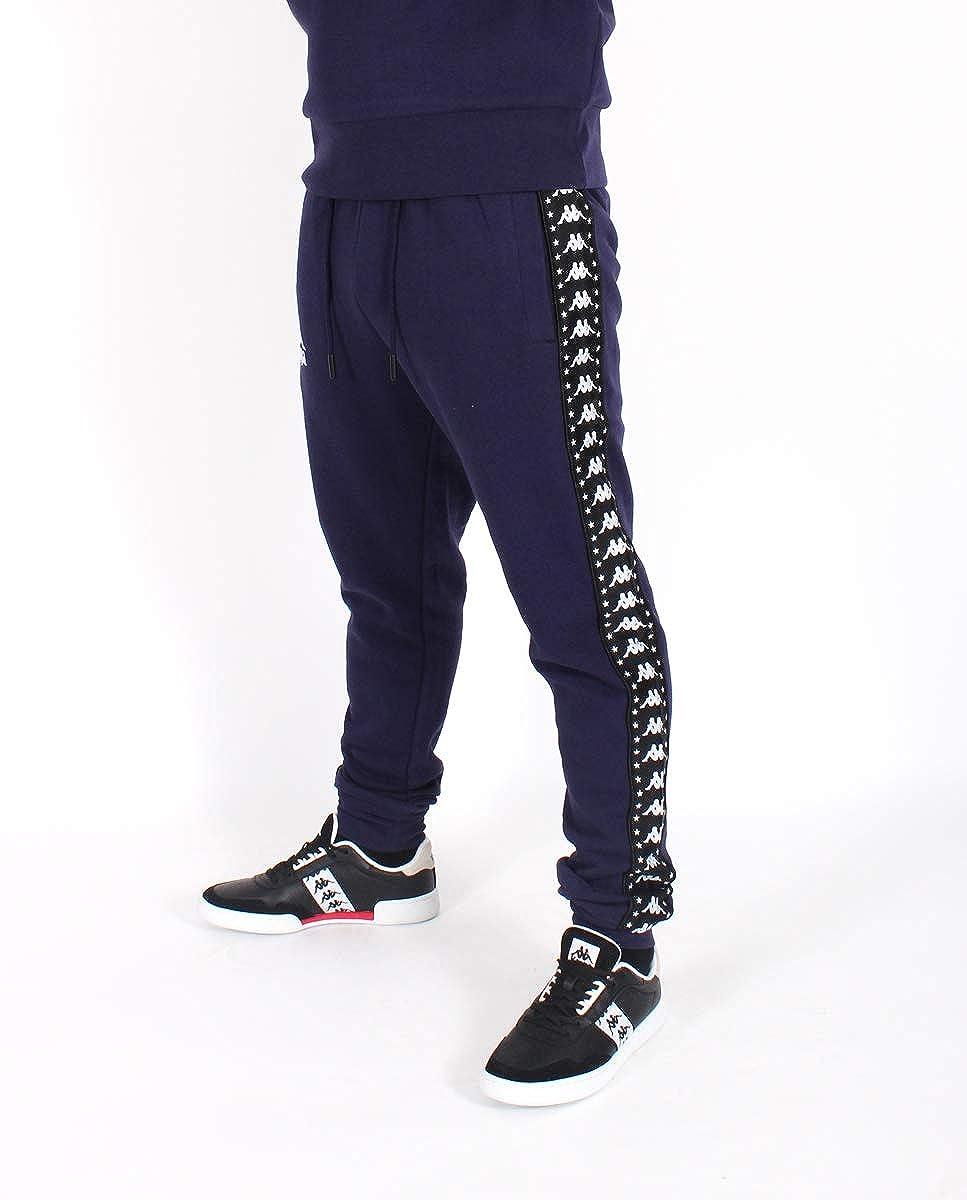 55cb9a3d2e Kappa Mens Authentic Amsag Slim Cuffed Track Pants at Amazon Men's ...