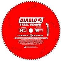 "Freud D1490CF 14"" x 90 Tooth Steel Demon Thin Metal Cutting Saw Blade"