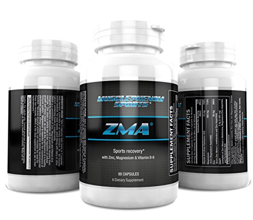 #1 ZMA ZMA supports recovery For Men and Women 90 Capsules