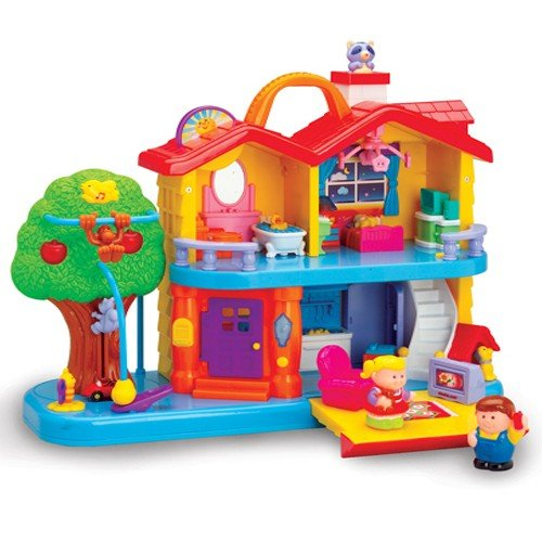 Constructive Playthings Toddler Interactive Discovery House