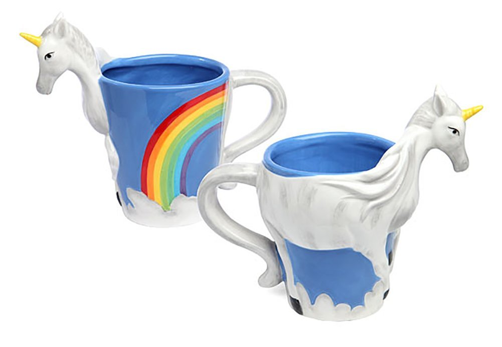 ThinkGeek 3D Unicorn Mug 3