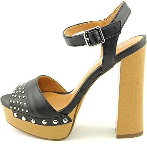 Women's Report Meeshka Black Dress Sandal nRP67ZPY