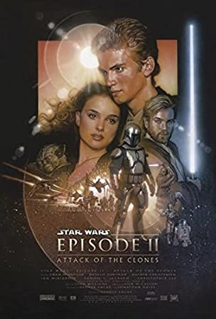 Amazon.de: Star Wars Episode II Poster (68, 5cm x 101, 5cm)