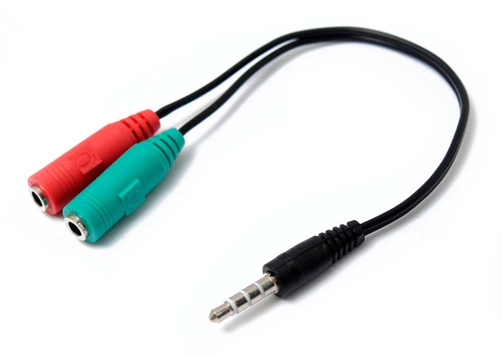 Adaptador Audio Microfono+Auricular MiniJack 3.5 92302